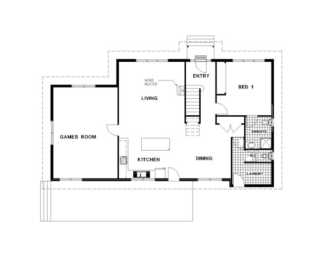 Maple House Holiday Accommodation Bright House Plans